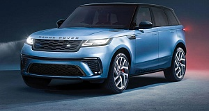 Стильный внедорожник нового поколения Range Rover Sport поступит в продажу уже в 2022 году
