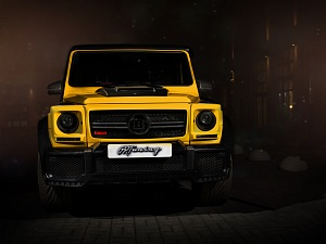 Mercedes G63 BRABUS STYLE WIDE STAR CRAZY COLOR EDITION