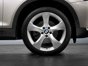 Легкосплавное дисковое колесо (звездообразные спицы) 311 для BMW X4 F26