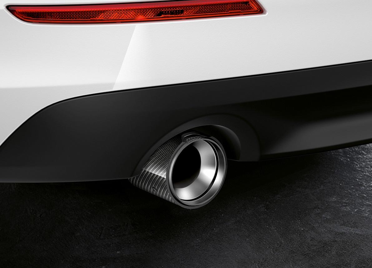 Насадка на выхлопную трубу (титан / карбон) M Performance для BMW 1 Series F40