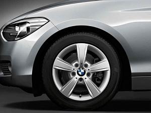 Легкосплавное дисковое колесо (звездообразные спицы) 376 для BMW 2 Series F22