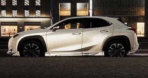 Новый агрессивный кит для Lexus UX от ателье Modellista