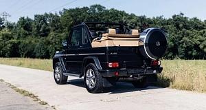 На продажу был выставлен раритетный и нереально дорогой автомобиль Мерседес марки «Гелендваген»