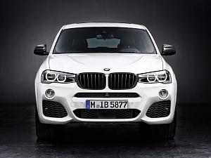 Аэродинамические принадлежности M Performance для BMW X4 F26