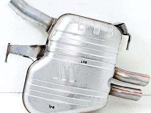 Задний дополнительный глушитель для BMW 5 Series F10/F11