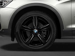 Легкосплавный колесный диск (сдвоенные спицы) 606 для BMW X4 F26