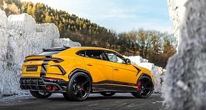 """Новый Lamborghini Urus получил больше """"лошадок"""" от ателье Manhart"""