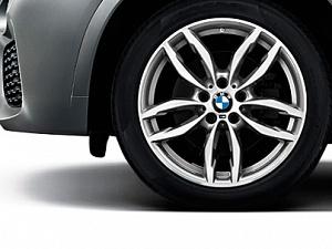 Легкосплавный колесный диск (сдвоенные спицы) 622 для BMW X4 F26