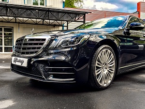 Mercedes S-class AMG Restyling
