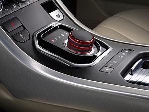 Шайба управления переключения передач (Anodized Red) для Range Rover Evoque