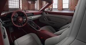 Интерьер автомобиля Porsche 911 обогатился новыми изысканными вариантами отделки