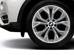 Легкосплавное дисковое колесо (Y-образные спицы) 608 для BMW X4 F26