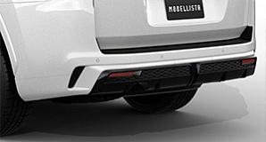Накладка на задний бампер Modellista для Toyota Land Cruiser 300