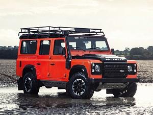 Решетка радиатора (Black) для Land Rover Defender