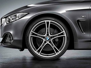Легкосплавный колесный диск (сдвоенные спицы) 361 для BMW 2 Series F22