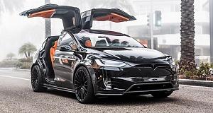 Tesla Model X получила новый тюнинг от T Sportsline