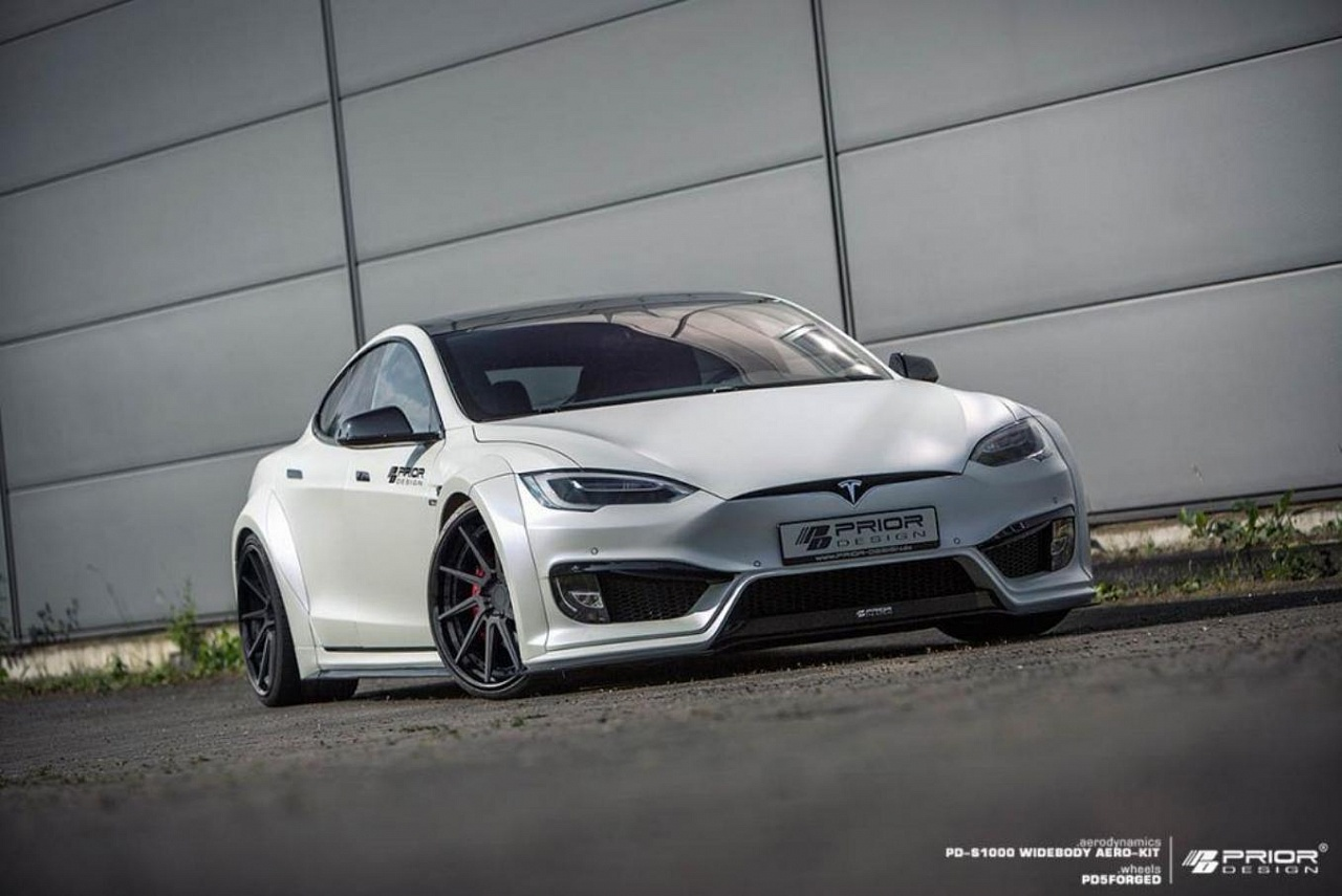 Prior Design WideBody для Tesla Model S