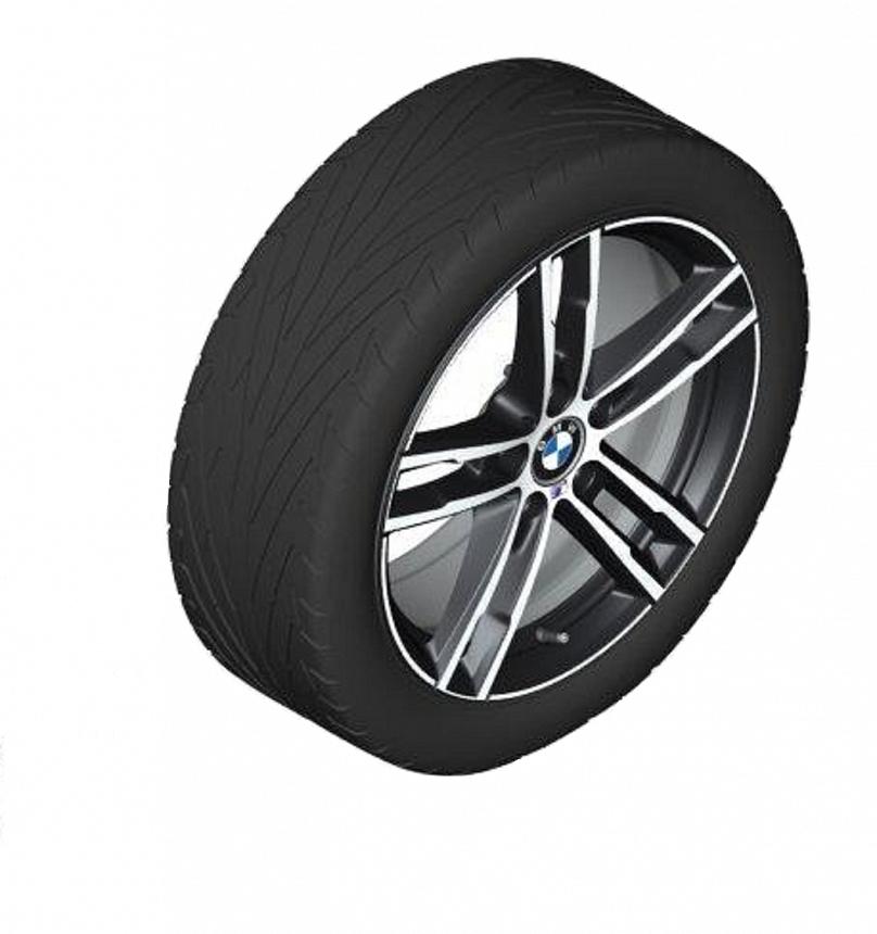 Легкосплавное дисковое колесо (сдвоенные спицы) 719 для BMW 1 Series F20/F21