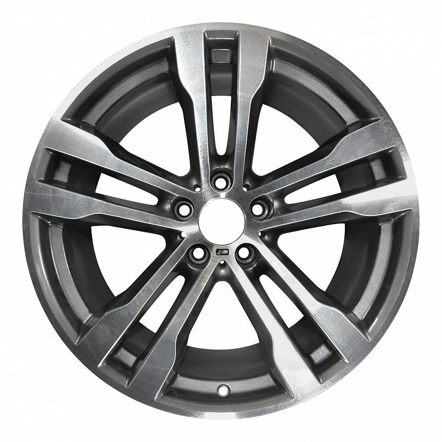 Легкосплавный колесный диск (сдвоенные спицы) 468M для BMW X6 F16