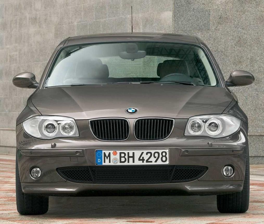 Передний бампер с противотуманными фарами M Sport для BMW 1 Series F20