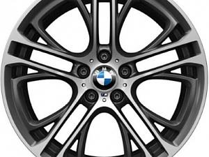 Легкосплавный колесный диск (сдвоенные спицы) 310 для BMW X4 F26