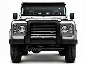 Передняя защита (под лебедку) для Land Rover Defender