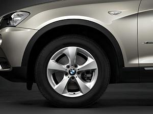 Легкосплавный колесный диск (обтекаемая форма) 306 для BMW X4 F26