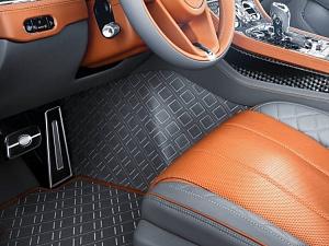 Кожаные ковры салона Startech для Bentley Continental GT/GTC 2018-