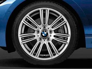 Легкосплавное дисковое колесо (звездообразные спицы) 383 для BMW 2 Series F22