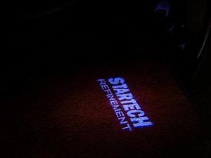 Подсветка с логотипом Startech для Bentley Flying Spur 2016-