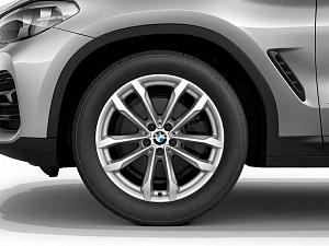 Легкосплавное дисковое колесо (V-образные спицы) 691 для BMW X4 G02