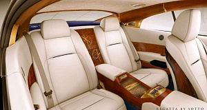 Автомобиль Rolls-Royce Wraith превратился в шикарную сухопутную яхту