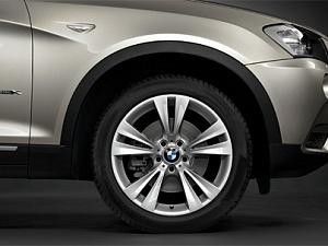Легкосплавный колесный диск (сдвоенные спицы) 309 для BMW X4 F26