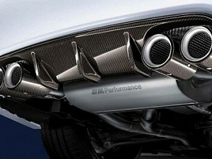 Насадка на выпускную трубу (карбон) M Performance для BMW 2 Series F87