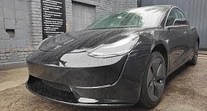 Бампер Roadster для Tesla Model 3