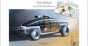 Культовый британский концерн Rolls-Royce превращает детские рисунки в оригинальные концепты