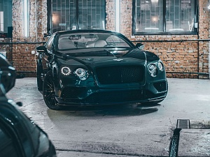 Рестайлинг Bentley GT 2006 в GT SPEED 2016 EMERALD GREEN
