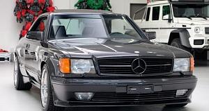 Раритетный автомобиль-купе Mercedes-Benz 1989 года выпуска выставлен на продажу в идеальном состоянии