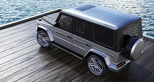 Известное тюнинг-ателье Carlex Design оформило салон автомобиля «Гелендваген» от Mercedes в стиле самой настоящей яхты