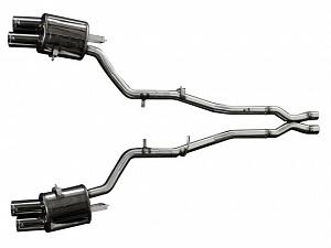 Спортивный глушитель Hamann для BMW 5series F10 & F11