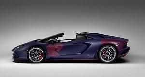 Машина Ламборджини Aventador S Korean Special станет истинным раритетом