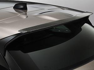 Спойлер задней крышки багажника (Carbon) для Range Rover Velar