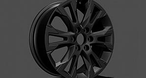 Колесный диск Matt Black R21 Modellista для Toyota Land Cruiser 300