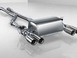 Система глушителя с клапаном для BMW 2 Series F87