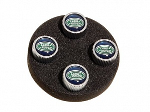Комплект колпачков на вентиль Black Jack Design для Range Rover Evoque