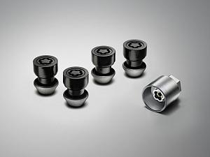 Комплект секреток Black для Range Rover Evoque