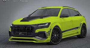 Обвес для Audi Q8 от тюнинг-ателье Lumma Design