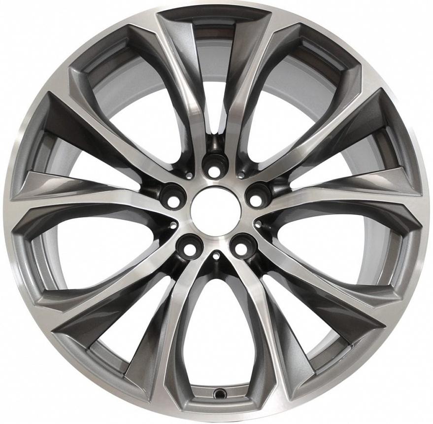 Легкосплавное дисковое колесо (V-образные спицы) 597 для BMW X6 F16