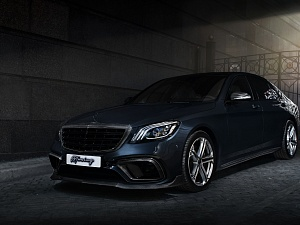 Mercedes S-class AMG 6.3 BRABIS STYLE