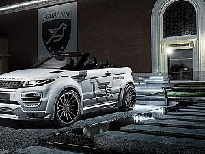 Обвес HAMANN для Range Rover Evoque Cabriolet
